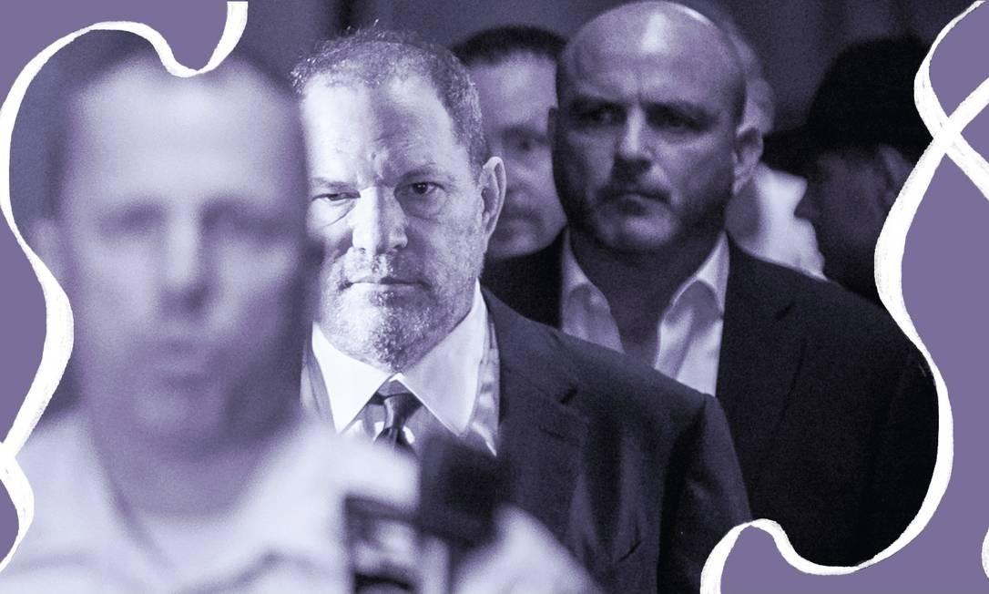 'Você trouxe vergonha para a família' escreveu o irmão de Harvey Weinstein em carta publicada na íntegra no livro 'She Said', das repórteres Jodi Kantor e Megan Twohey, do New York Times Foto: New York Times