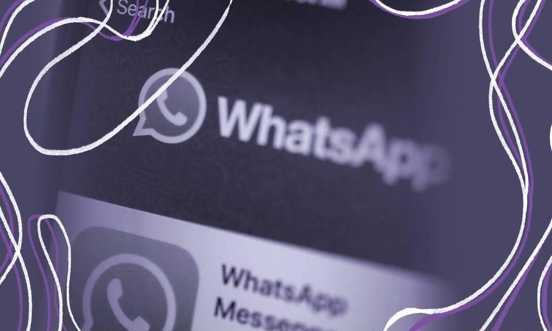 O compartilhamento de imagens íntimas sem consentimento é crime, mas acontece todo dia nos grupos de Whatsapp Foto: Bloomberg