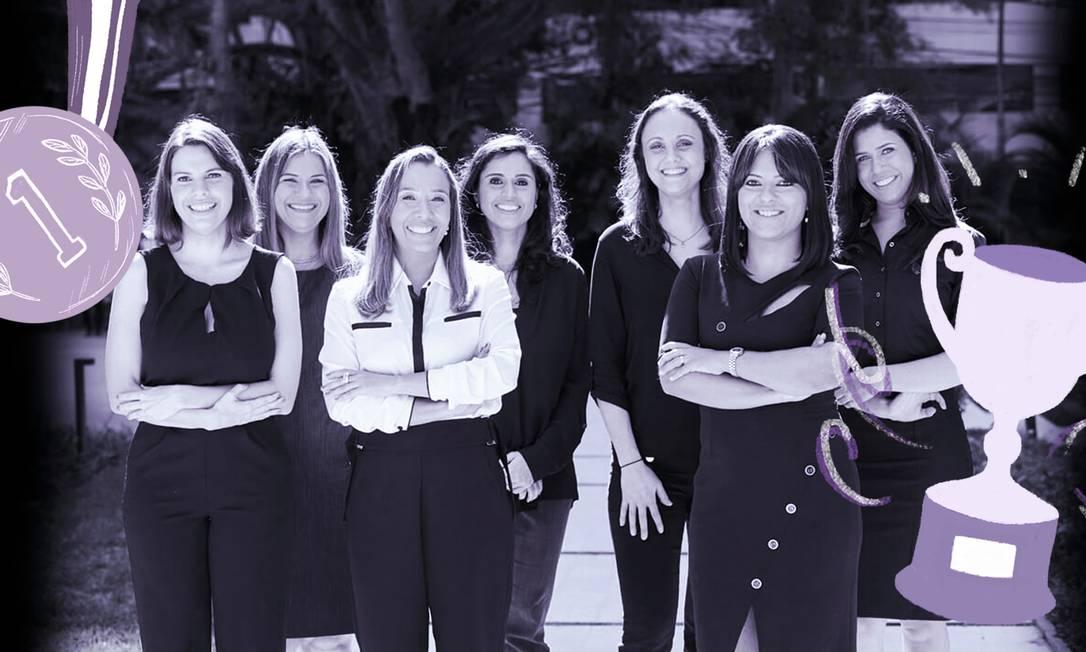 """As ganhadoras do prêmio """"Para Mulheres na Ciência"""" Foto: Divulgação L'oréal"""