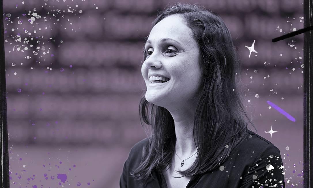 Marina Trevisan, uma das ganhadoras do prêmio