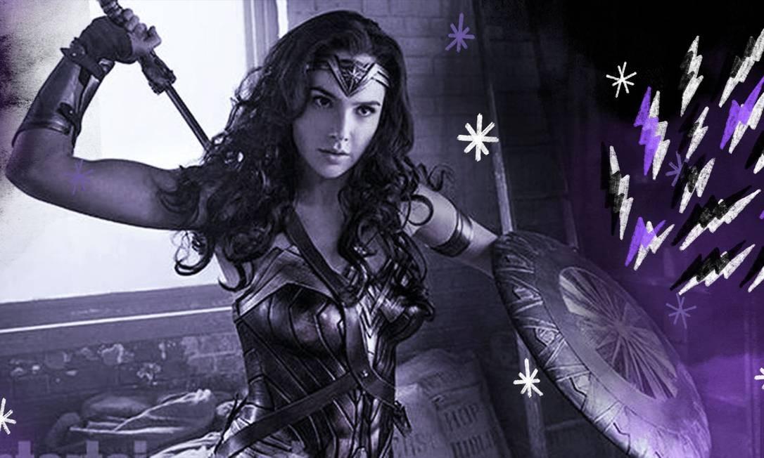 Os mais aguardados de 2020: 'Wonder Woman 1984', de Patty Jenkins, 'Viúva Negra', de Cate Shortland, 'The Eternals', de Chloe Zhao, e 'Mulan', de Niki Caro Foto: Arte sobre foto de Divulgação