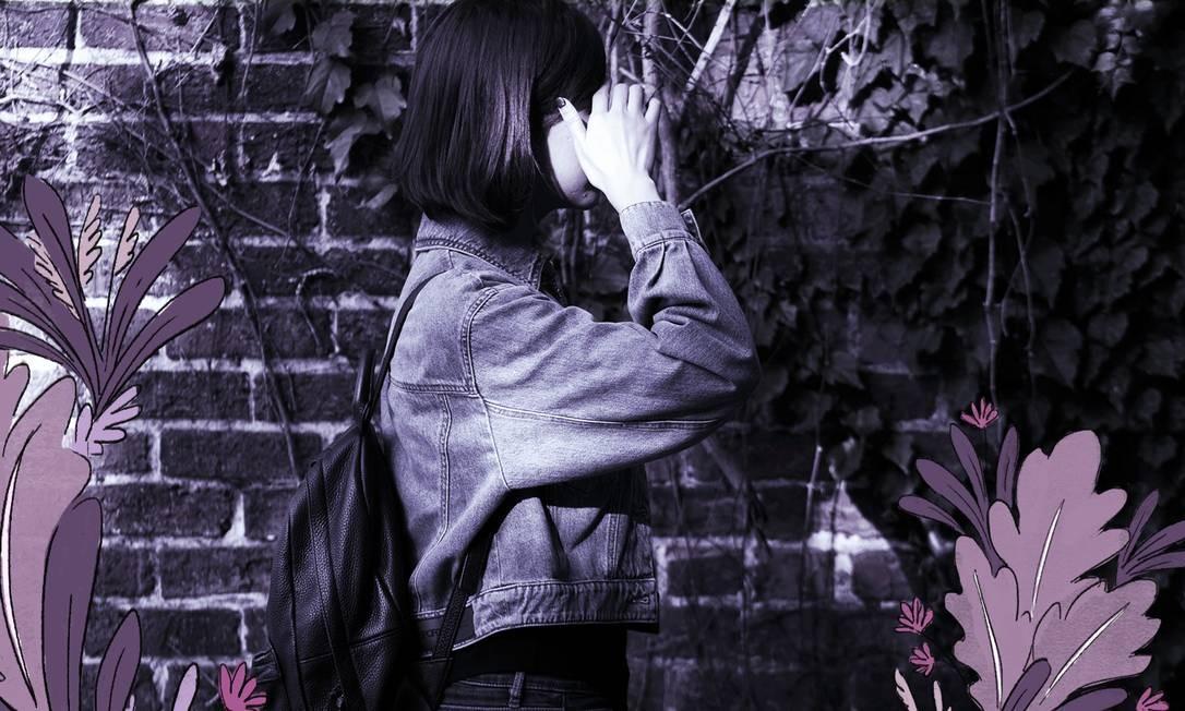 #MeToo na China: Belinda He acusou um colega de trabalho mais velho de beijá-la à força e de tirar a roupa em um quarto de hotel e foi processada por difamação Foto: Arte sobre foto do New York Times