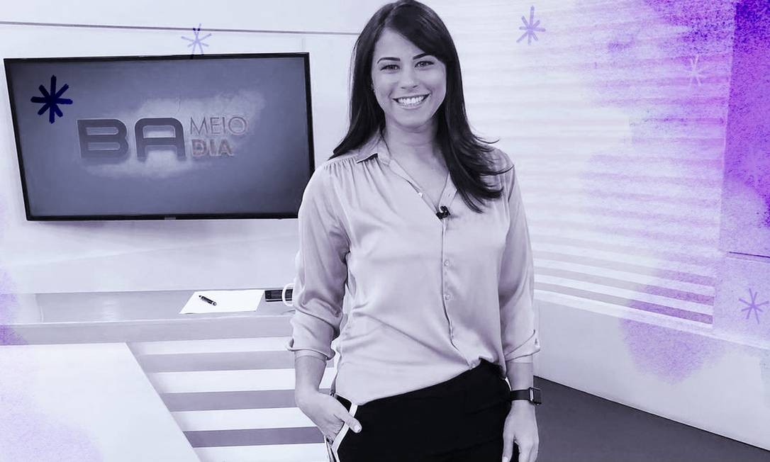 Após exibir uma reportagem sobre a possível contratação de Bruno, a apresentadora Jéssica Senra deixou clara a sua posição e recebeu apoio de muitas mulheres nas redes sociais Foto: Reprodução/Instagram