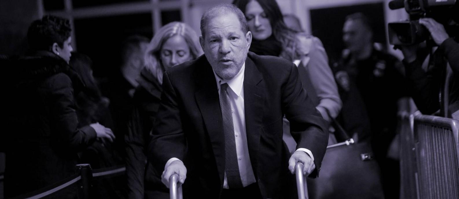 Outrora poderoso produtor de Hollywood, Harvey Weinstein poderá enfrentar a prisão perpétua se for condenado pela acusação mais grave, de agressão sexual predatória Foto: Reuters