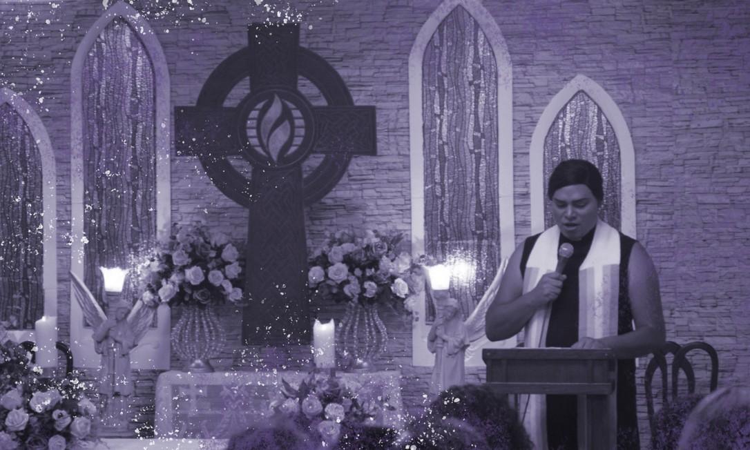 Alexya Salvador, de 39 anos, é pastora na Igreja da Comunidade Metropolitana, em São Paulo Foto: Arquivo Pessoal