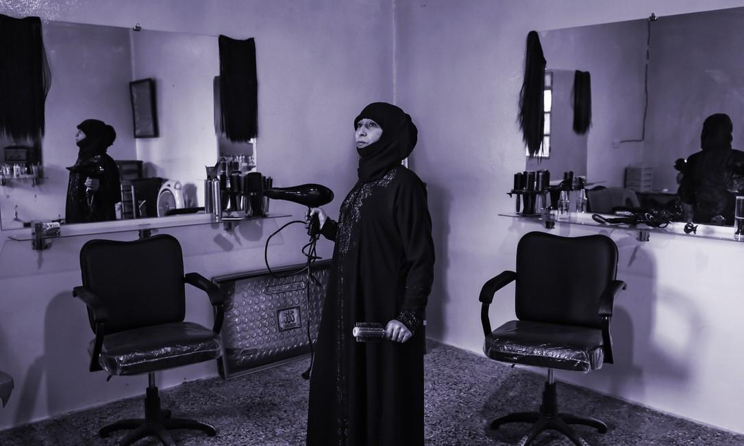 Fatima Rawass: 'Quando você trabalha, não precisa pedir nada a ninguém' Foto: Meridith Kohut / NYT