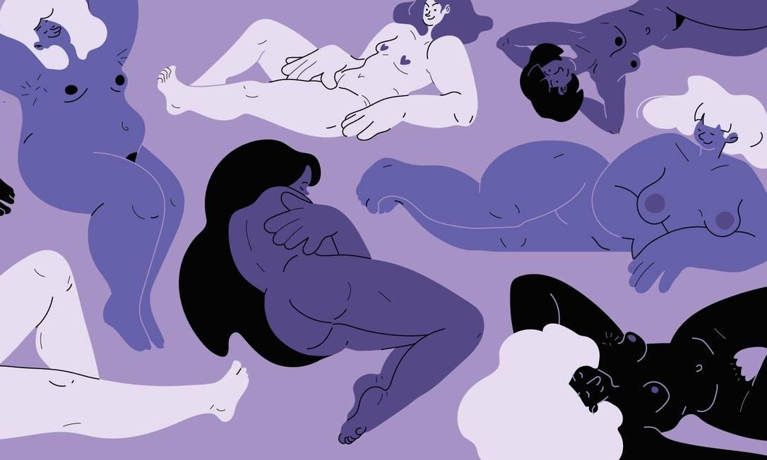 Mito da criação do vibrador contribui para as maneiras pelas quais ainda interpretamos mal a sexualidade feminina Foto: Arte de Paula Cruz