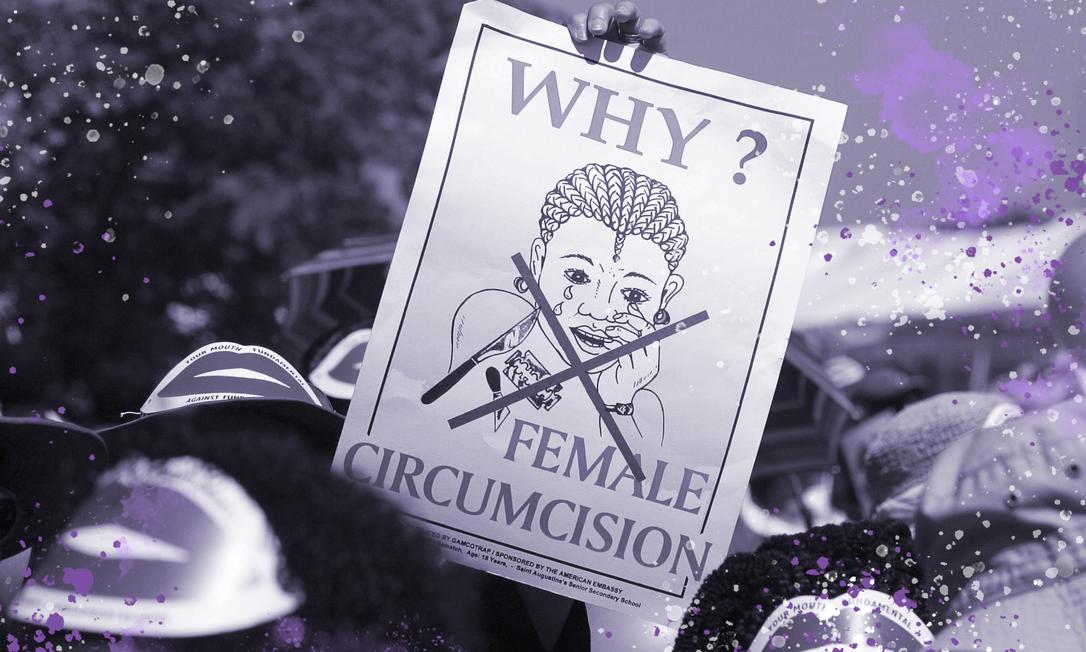 Mutilação genital de mulheres e meninas permanece tão predominante quanto há 30 anos em alguns países, apesar dos esforços globais para erradicá-la, diz Unicef Foto: AFP
