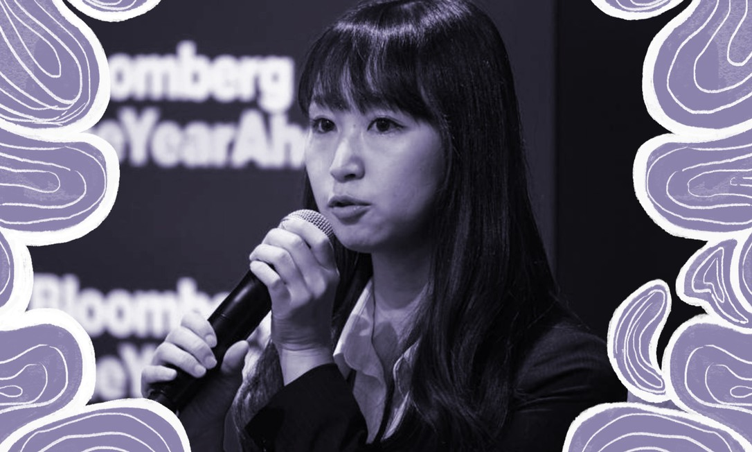 Yumi Ishikawa, fundadora do movimento #KuToo no Japão Foto: Akio Kon / Bloomberg