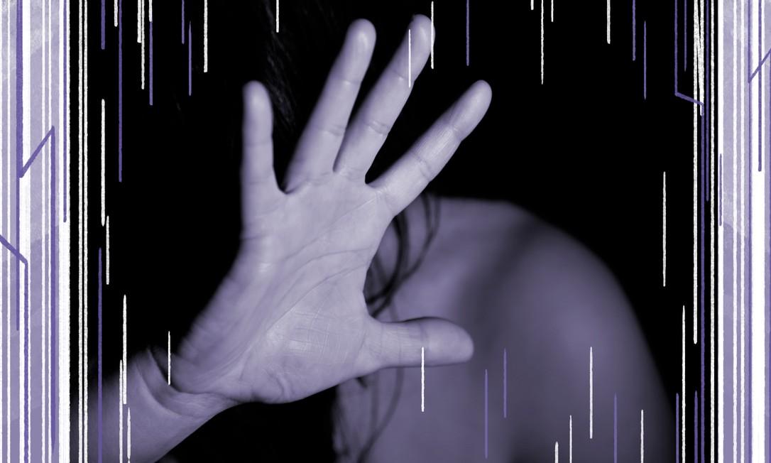 Especialistas e organizações de defesa do direitos da mulheres já vinham apontando para a possibilidade de aumento de casos de violência doméstica neste período Foto: Arte sobre foto do Pixabay