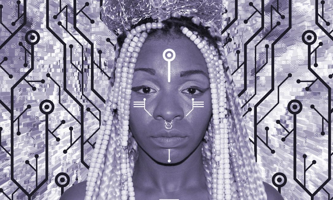 Zaika dos Santos é multiartista, pesquisadora e cientista do afrofuturismo Foto: Transitora (@nokenago e @55pxl) / Divulga??o
