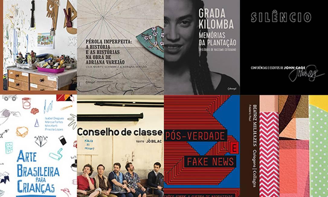 Ganhe 30% off no catálogo, que conta com livros premiados e em linha com as discussões atuais. Foto: Divulgação / Editora Cobogó