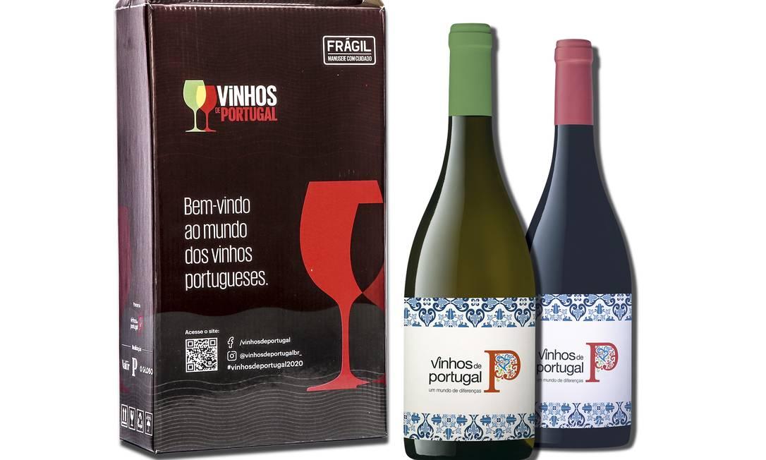 Gift Box Vinhos de Portugal Foto: Divulgação / Vinhos de Portugal