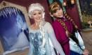 Personagen de 'Frozen', as princesas Elsa e Anna, são atração nos parques Disney da Califórnia Foto: Disneyland Resort