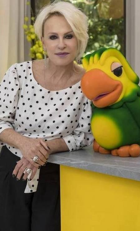 Ana Maria Braga e Louro José Foto: TV Globo