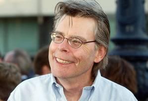 O escritor Stephen King, em 2011 Foto: Divulgação