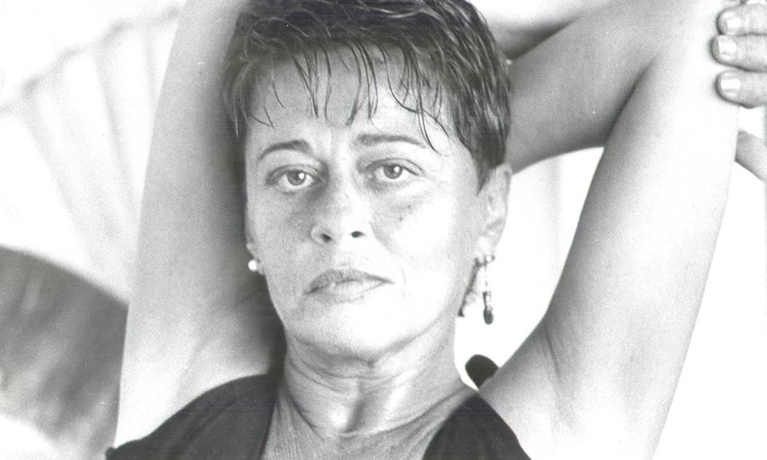 Norma Bengell em 1985 Foto: Otávio Magalhães / Agência O Globo