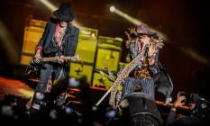 Aerosmith no Monsters of Rock, em São Paulo Foto: STEPHAN SOLON / Divulgação
