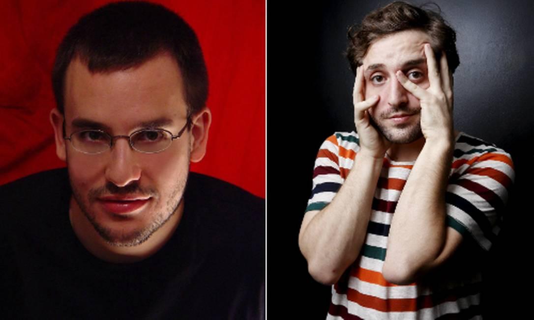 Antonio Prata e Gregorio Duvivier Foto: O Globo