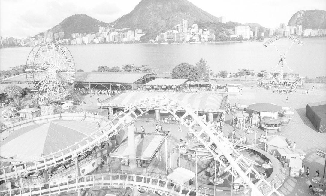 Orfei foi o criador e proprietário do Tivoli Park, que funcionou durante 23 anos na beira da Lagoa Rodrigo de Freitas Foto: Aldo Cunha / Arquivo