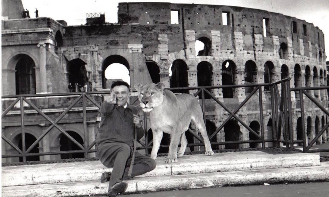 Metade das cenas do documentário foram rodadas na Itália, onde os Orfei são referência na arte circense até hoje Foto: Arquivo