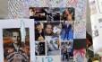 Fotos e mensagens deixados por fãs de Paul Walker no local do acidente que matou o ator
