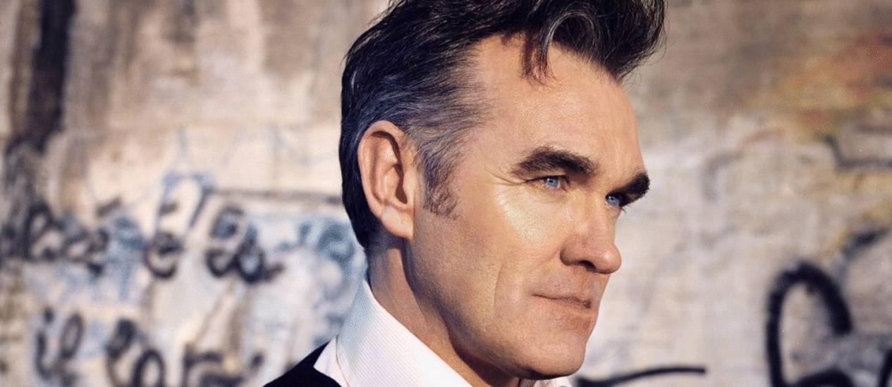 O músico Morrissey Foto: Divulgação
