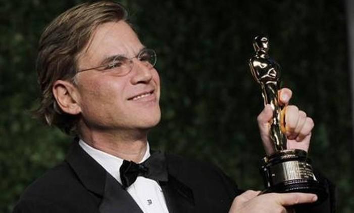 O roteirista Aaron Sorkin, premiado por 'A rede social' (2010) Foto: Reuters