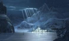 Arte conceitual de 'Frozen - Uma aventura congelante' Foto: Divulgação