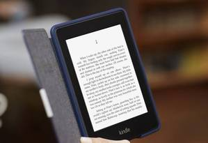 O popular e-book Kindle Foto: AFP