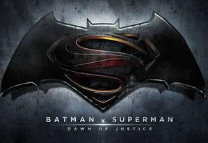 Logo oficial de filme 'Batman vs Superman: Dawn of justice' Foto: Divulgação