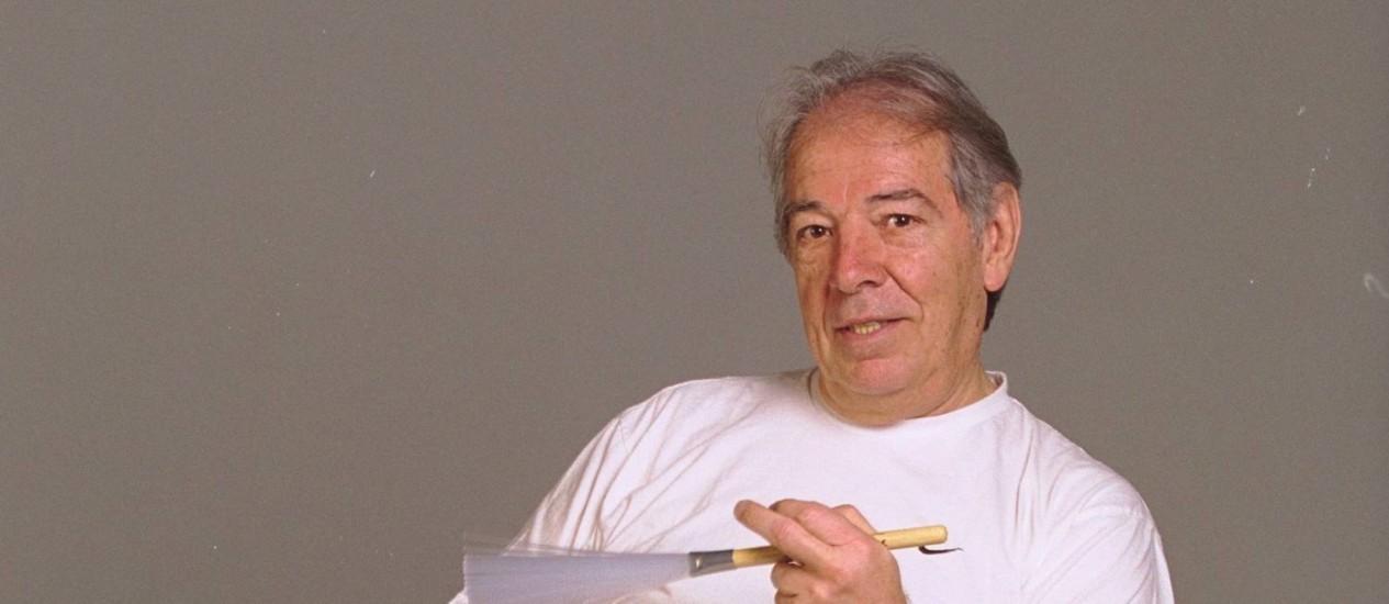 O músico Hélcio Milito Foto: Leonardo Aversa