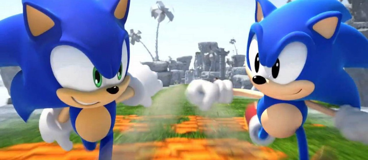 O personagem Sonic Foto: Divulgação