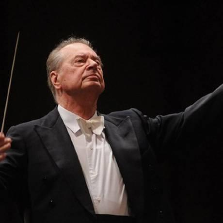 O maestro Rafael Frühbeck de Burgos Foto: Divulgação