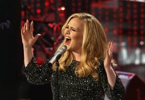 A cantora londrina Adele Foto: MARIO ANZUONI / REUTERS