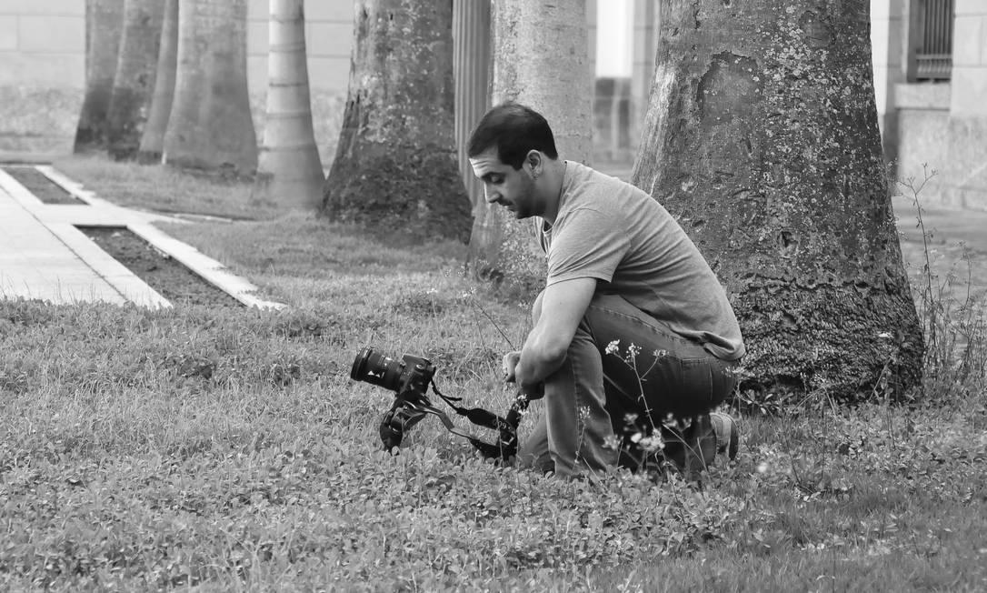 Fabiano Cafure, curador do canal O Cubo, site que reúne pelo menos 50 produções independentes Foto: Divulgação