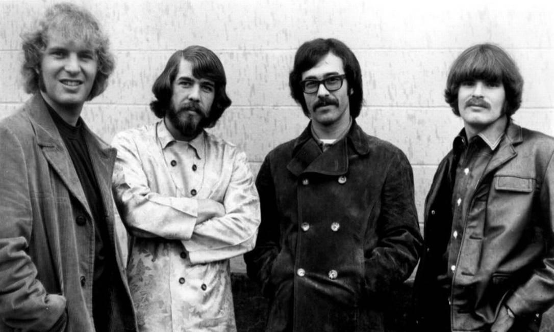 Formação do Creedence: Tom Fogerty, Doug Clifford, Stu Cook, e John Fogerty Foto: Divulgação