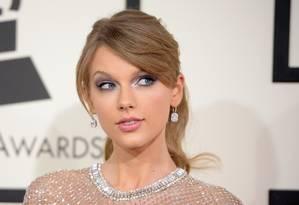 A cantora Taylor Swift Foto: ROBYN BECK / AFP