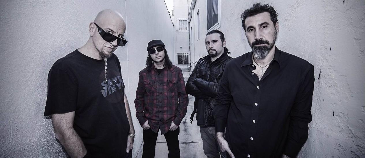 System of a Down é confirmado no Rock in Rio Brasil 2015 Foto: Divulgação