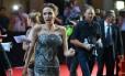 Angelina Jolie chega à pré-estreia de 'Invencível', em Sidney, na Austrália