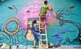 Em sua nona edição, o Meeting of Favela reuniu mais de mil grafiteiros na Vila Operária, em Duque de Caxias