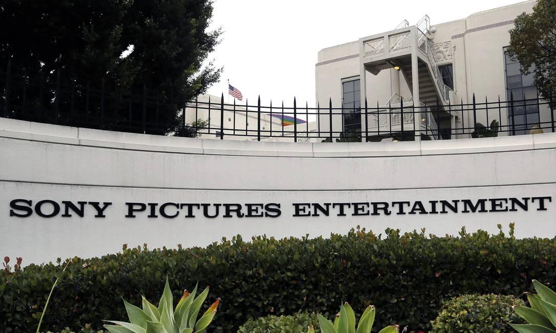 A sede da Sony Pictures Entertainment, na Califórnia Foto: Nick Ut / AP