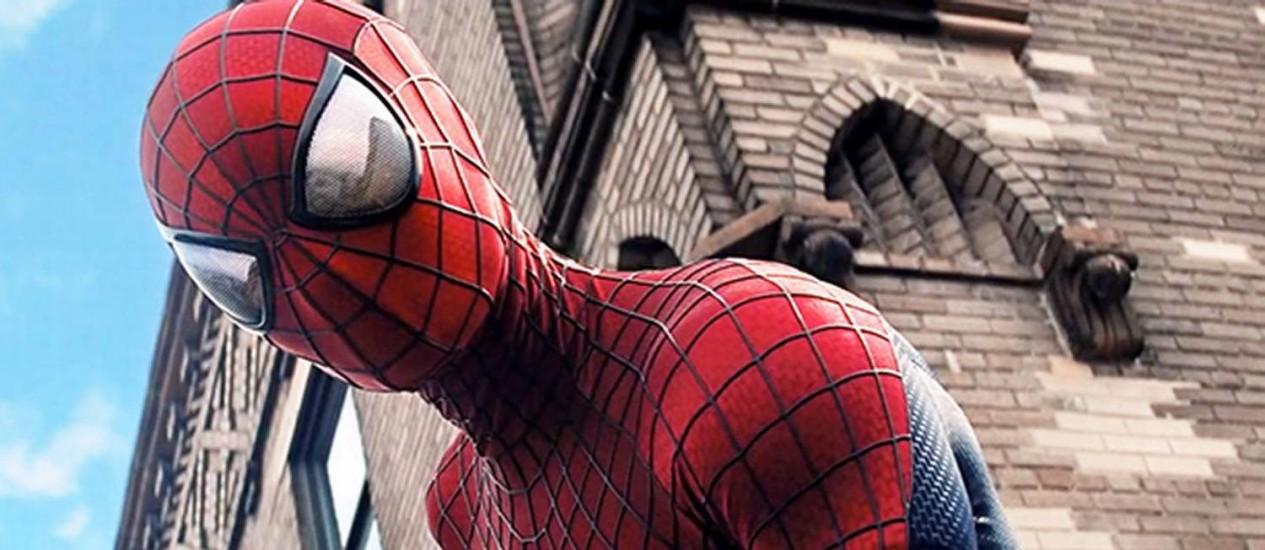 Cena de 'O espetacular Homem-Aranha 2: a ameaça de Electro' Foto: Divulgação