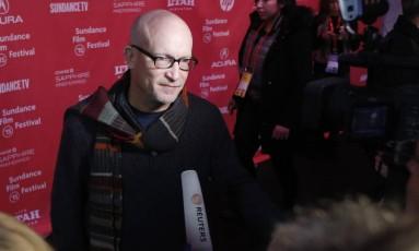 O diretor Alex Gibney na sessão de 'Going clear: Scientology and the prison of belief', em Sundance Foto: JIM URQUHART / REUTERS