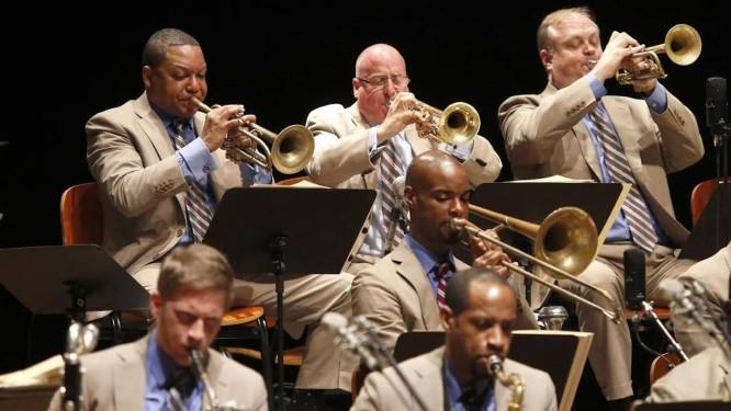 Wynton Marsalis e a Lincoln Center Orchestra Foto: Fabio Rossi