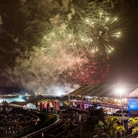 Visão geral do festival Lollapalooza, no primeiro dia de shows Foto: Divulgação/I Hate Flash
