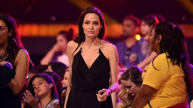 Angelina Jolie no Kids' Choice Awards Foto: KEVIN WINTER / AFP