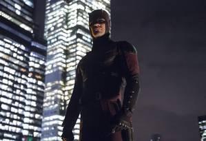 Charlie Cox como Demolidor na série da Netflix Foto: Divulgação