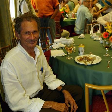 O diretor Simião Martiniano no Festival do Rio, em 2003 Foto: Ana Branco