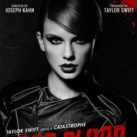 'Catastrophe', personagem de Taylor Swift no clipe 'Bad blood' Foto: Divulgação